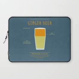 Ginger Beer - Cocktail by Juan Laptop Sleeve