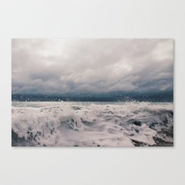 Wabasso Beach Waves 2 Canvas Print