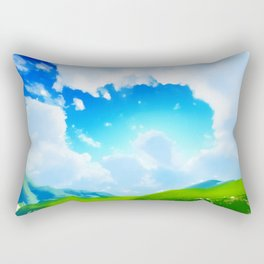 Anime Sky II Rectangular Pillow