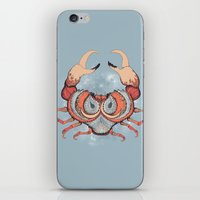 cancer iPhone & iPod Skins featuring Cancer by Vibeke Koehler