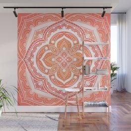 Mandala pattern - Indian floral motif Wall Mural