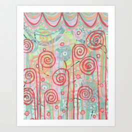 Fiddlehead Art Print