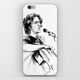 А man who sings and plays the cello iPhone Skin