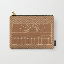 Palm-Tree row Carry-All Pouch