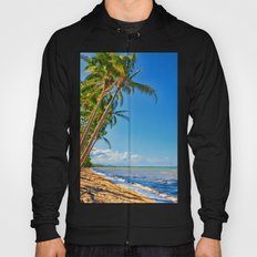 Coconut palms in Tropical North Queensland Hoody