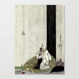"""Kay Nielsen Fairy Tale Art from """"West of the Moon"""" Canvas Print"""