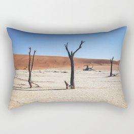 DeadVlei Barren Landscape Rectangular Pillow