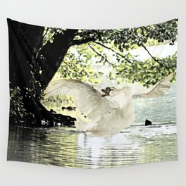 Swan Lake Part two. Wall Tapestry