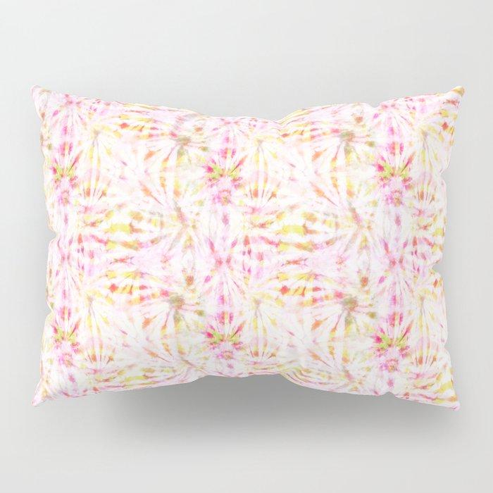 Summer Vibes Tie Dye in Bouquet Pillow Sham