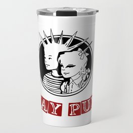 Stay Punk Travel Mug