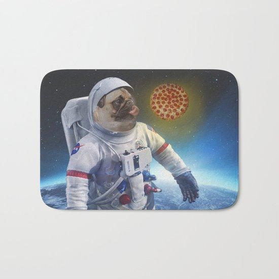 Pugernaut - Pug in Space Bath Mat