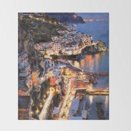 Amalfi, Italy Throw Blanket