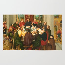 The Last Supper - 15th Century Painting Rug
