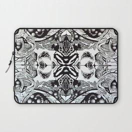 Pen & Ink Tile Laptop Sleeve