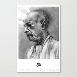 A.C. Bhaktivedanta Swami  Canvas Print