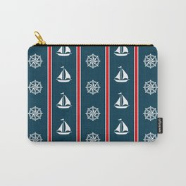 Nautical design Carry-All Pouch