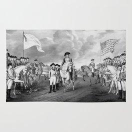 Surrender Of Lord Cornwallis At Yorktown Rug