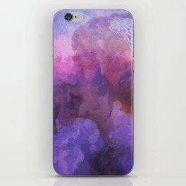 Purple haze memories iPhone Skin