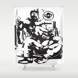 Muscle Bears Shower Curtain