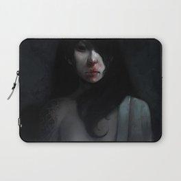 Portrait of Ikuko's Ghost Laptop Sleeve