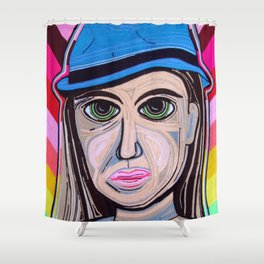 Dama 100% LANA Shower Curtain