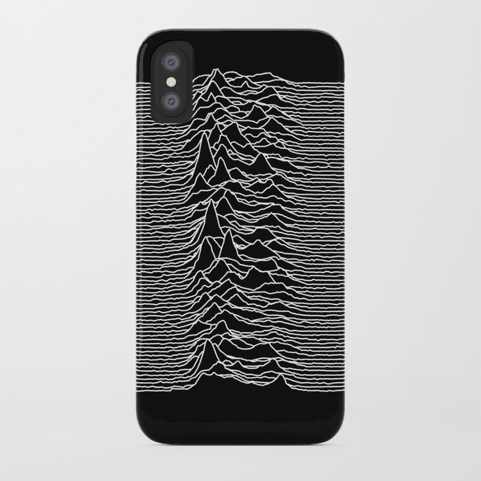 9a27b6612b Joy Division - Unknown Pleasures iPhone Case by hein77 | Society6