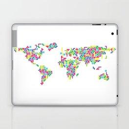 Tetris world (white one) Laptop & iPad Skin