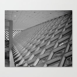 Detail of the Seattle Central Library Canvas Print