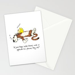 Calvin And Hobbes Quote Stationery Cards