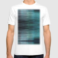 Night Light 138 - Ocean Mens Fitted Tee White MEDIUM