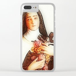 Saint Clear iPhone Case