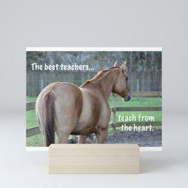 The Best Teachers Mini Art Print
