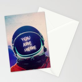 Where You Are Stationery Cards
