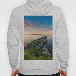 Kinebane castle,Ireland,Northern Ireland,Antrim coast Hoody