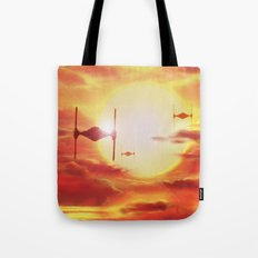 Tie Fighters Tote Bag