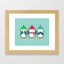 No Evil In Holiday Framed Art Print