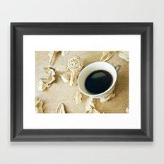 Coffee Time 4 Framed Art Print