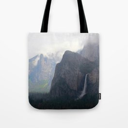 View of the valley Tote Bag