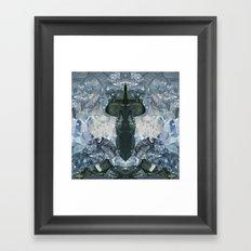 crystaux Framed Art Print