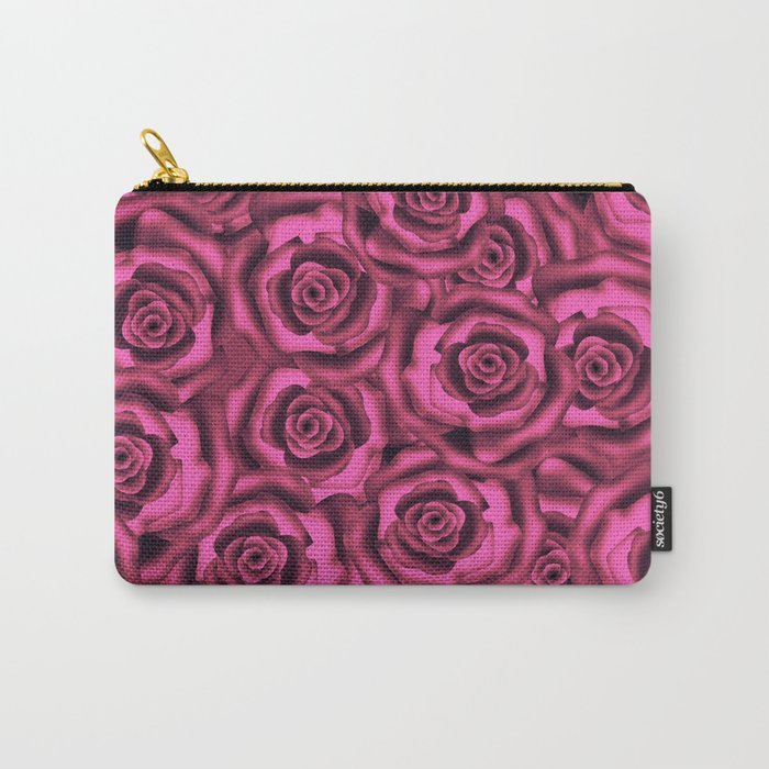 Pink roses. Pattern. Carry-All Pouch