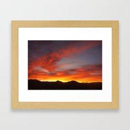 DESERT REDS 1 Framed Art Print