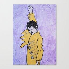 Freddy mercury Canvas Print