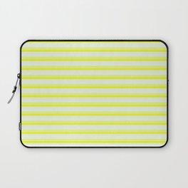 Yellow Stripes Laptop Sleeve