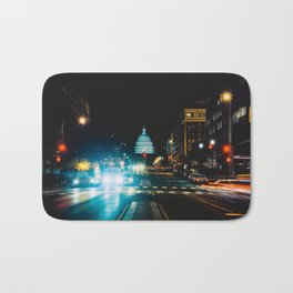 View of US Capitol Building from North Capitol Street Bath Mat