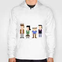 seinfeld Hoodies featuring Seinfeld in 8 Bit by AutoMasta