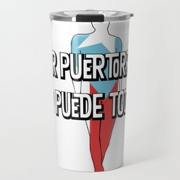La mujer Puertorriquena Travel Mug
