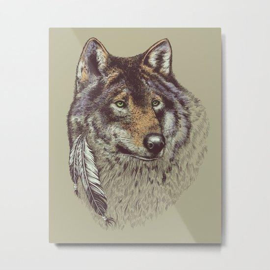 Wolfen Metal Print