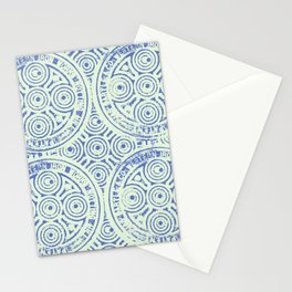 notting hill blues Stationery Cards