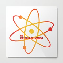 the Love Car Displacement - Season 4 Episode 13 - the BB Theory - Sitcom TV Show Metal Print