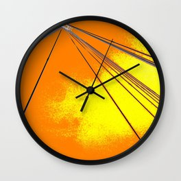 We Come In Peace I Wall Clock